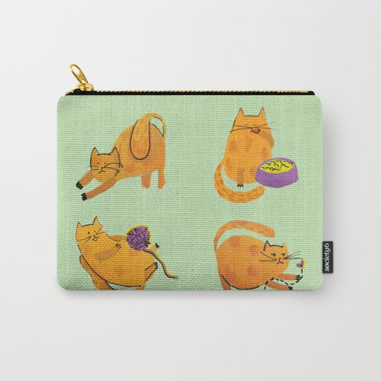 Fat cat fun Carry-All Pouch