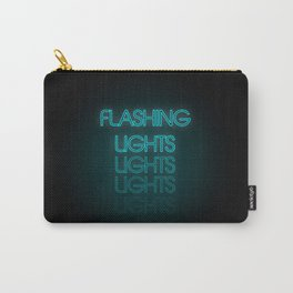 Flashing Lights Carry-All Pouch