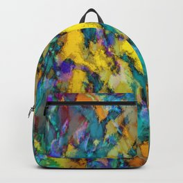 Yellow colour reaction Backpack