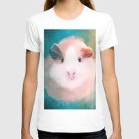 guinea pig T-shirts featuring A Guinea Pig's Love by Sarah Sangelus