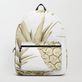 Gold Pineapple Party Backpack