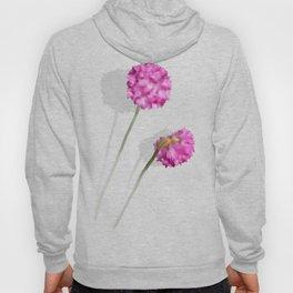 2 watercolor flowers Hoody