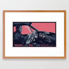 BULLITT - 02 Framed Art Print