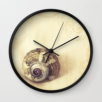 poetry Wall Clocks featuring Physical Poetry by Tangerine-Tane