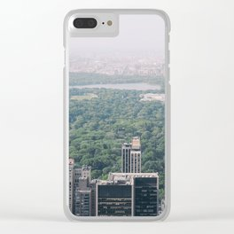 Central Park in NYC Clear iPhone Case