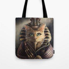 King Tutankhameow Tote Bag