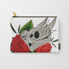 Chameleon Skull Carry-All Pouch