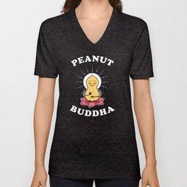 Peanut Buddha Unisex V-Neck