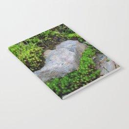 Vibrant Moss Notebook