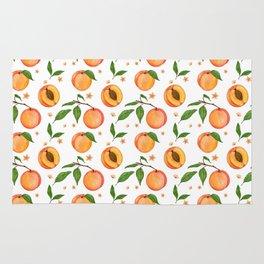 Peaches pattern Rug
