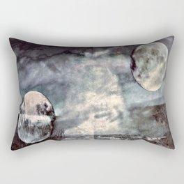 Double Moons Rectangular Pillow