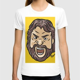 """Wood Cutter"" Jim Dugdan T-shirt"