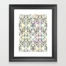 BUNNY BAROQUE Framed Art Print