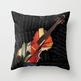 piece by piece Throw Pillow