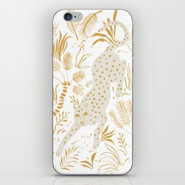 Golden Cheetah iPhone Skin