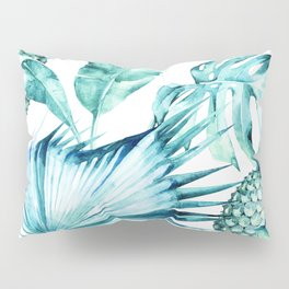 Bahamas - aquamarine Pillow Sham
