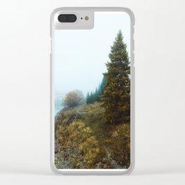 Morning Fog in Lake Tekapo Clear iPhone Case