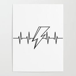 Bowie Heartbeat Poster