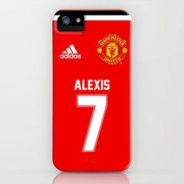 Alexis Sanchez Edition - Manchester United Home 2017/18 iPhone Case