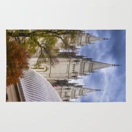 Salt Lake LDS (Mormon) Temple and Tabernacle - Temple Square - Utah Rug