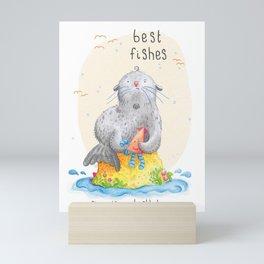 Best Fishes Mini Art Print