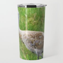 Bird Series: Sandhill Crane Travel Mug