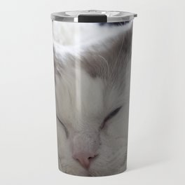 Ragdoll Cat Cuddles Travel Mug