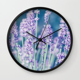 Lavender 122 Wall Clock