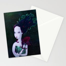 Mermaid & Mr Bubbles Stationery Cards