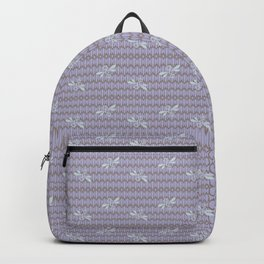 Field of Bees ~ LAVENDER CREAM Backpack