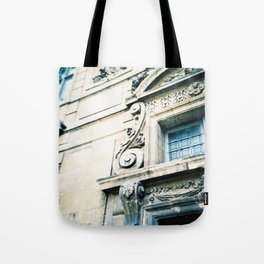 Windows and Faces in Montmarte Tote Bag