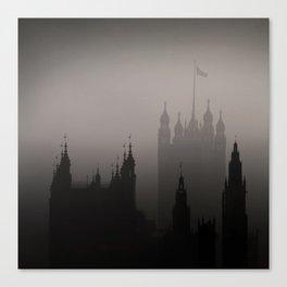 London Silhoueten Canvas Print