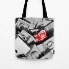 Red Brick Tote Bag