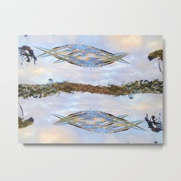 Hammocks Metal Print