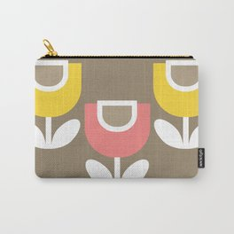 MCM Tulip in Pink & Yellow Carry-All Pouch