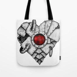 Heart - Mech Tote Bag