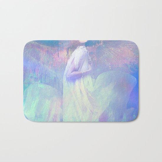 Ask your angel Bath Mat