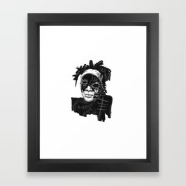 Jean-Michel Basquiat Framed Art Print
