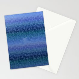 Cat wave Stationery Cards