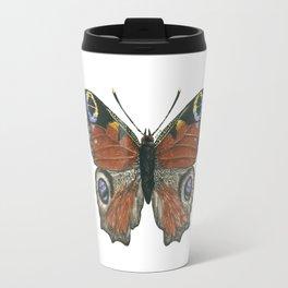 Peacock butterfly Travel Mug