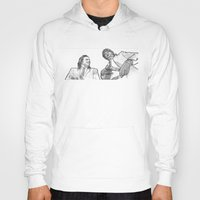 pulp fiction Hoodies featuring pulp by BzPortraits