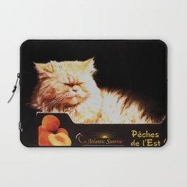 Peachy Kitty Laptop Sleeve