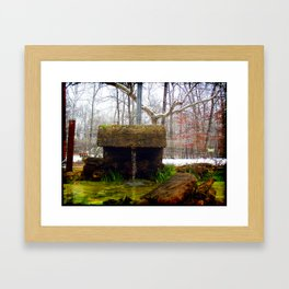 Cool Fresh Water Framed Art Print