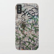 berlin wall iPhone X Slim Case