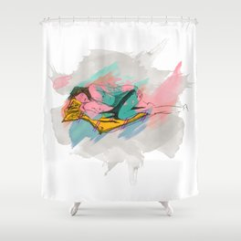 The Lady Shower Curtain