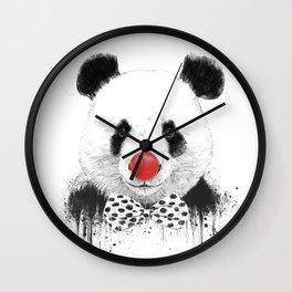 Clown panda Wall Clock