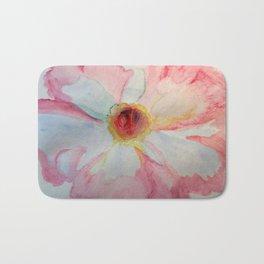Camellia in Pink Bath Mat