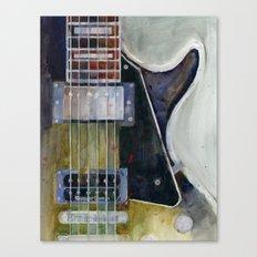 Les Paul Gibson Guitar Canvas Print