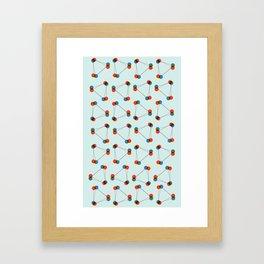 connect. Framed Art Print