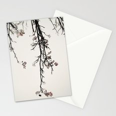 Delicate like snow Stationery Cards